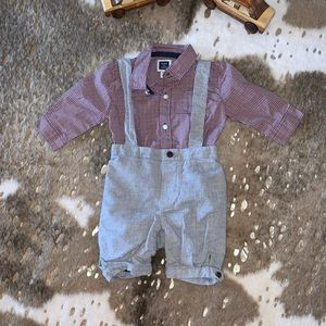 New Janie and Jack Shortall Outfit 3-6M